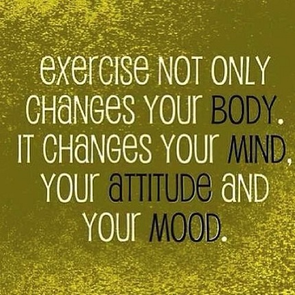 Mood and Attitude Gym Quotes