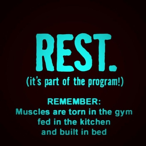 Rest Gym Quotes