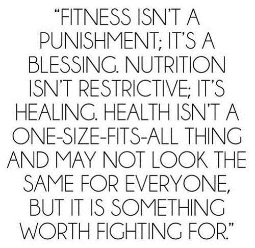 Punishment Gym Quotes