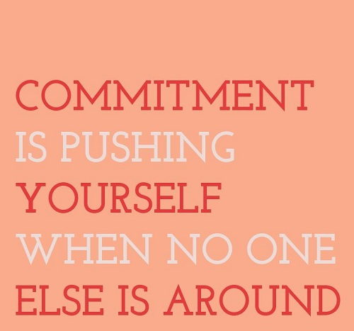 Pushing Yourself Gym Quotes