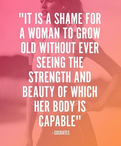 Shame Gym Quotes