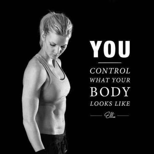 Control Your Body Gym Quotes