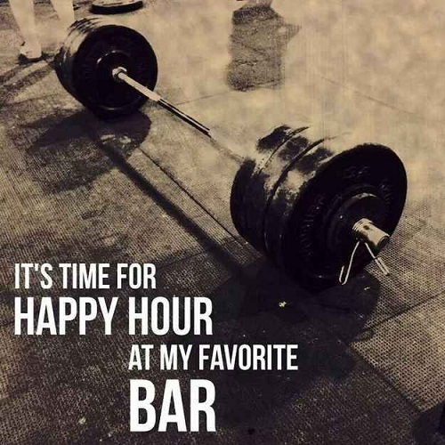 Happy Hour Gym Quotes