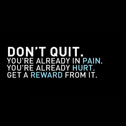 Don't Quit Gym Quotes
