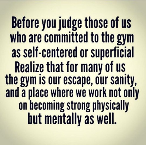Judge Gym Quotes