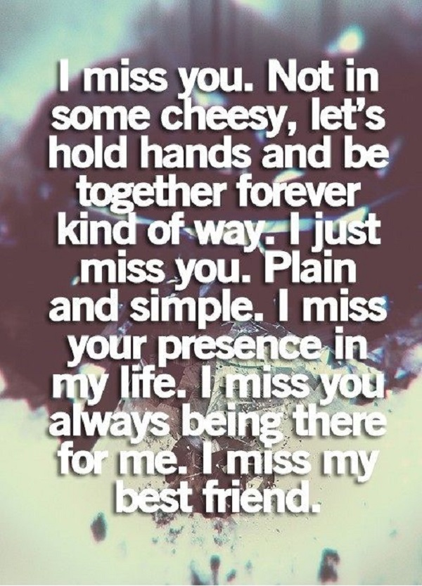 I Miss You My Best Friend Quotes