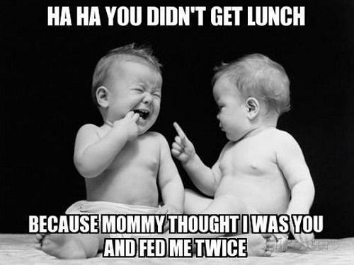 Don't Get Lunch Twin Quotes