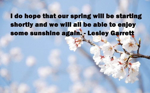 Cool Spring Quotes with Pictures