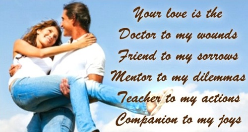 Your Love is Love Quotes for Husbands