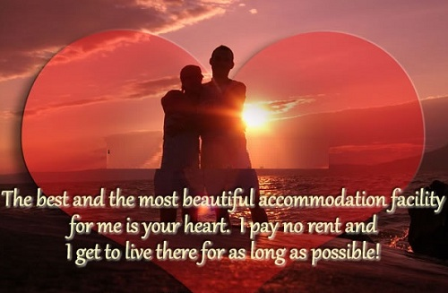 Accommodation Facility Love Quotes for Husband