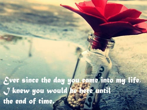 End of Time Love Quotes for Husband