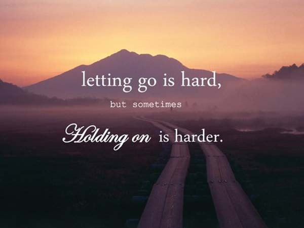 Pain Quotes About Letting Go