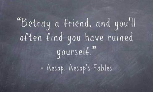 bad friend quotes fake and friend sayings