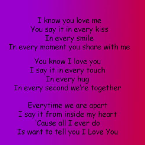 For love him romantic poems short Short Love