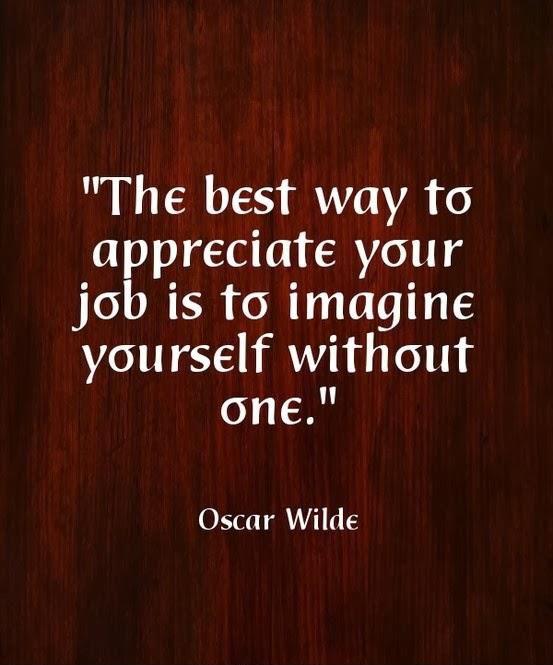 Appreciate Your Job