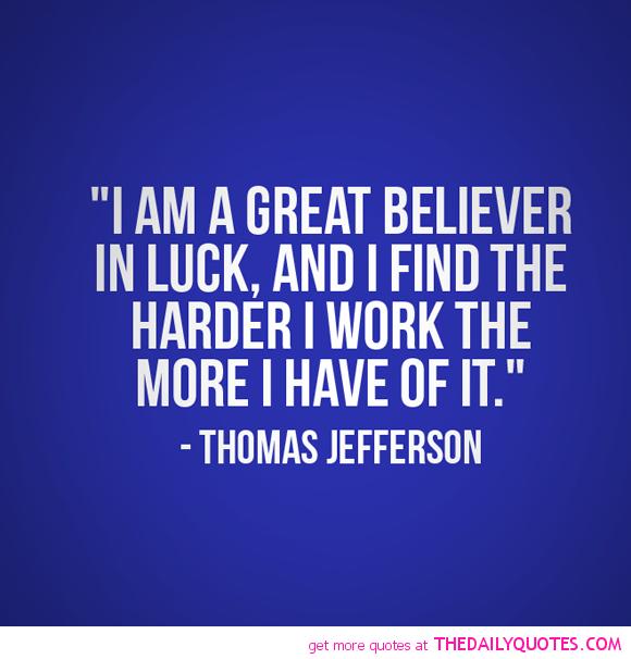 Believer In Luck