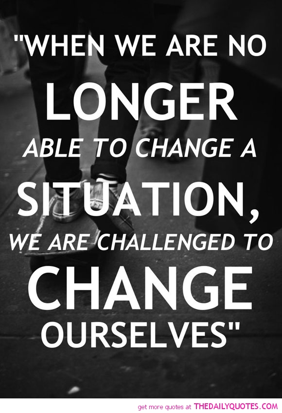 Change A Situation