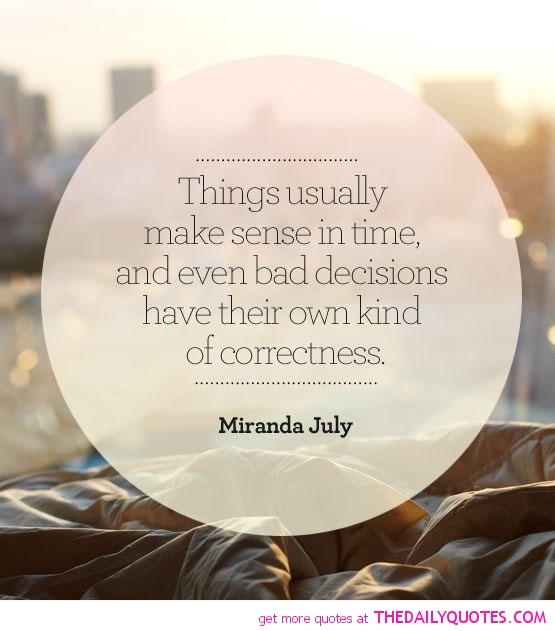 Make Sense In Time