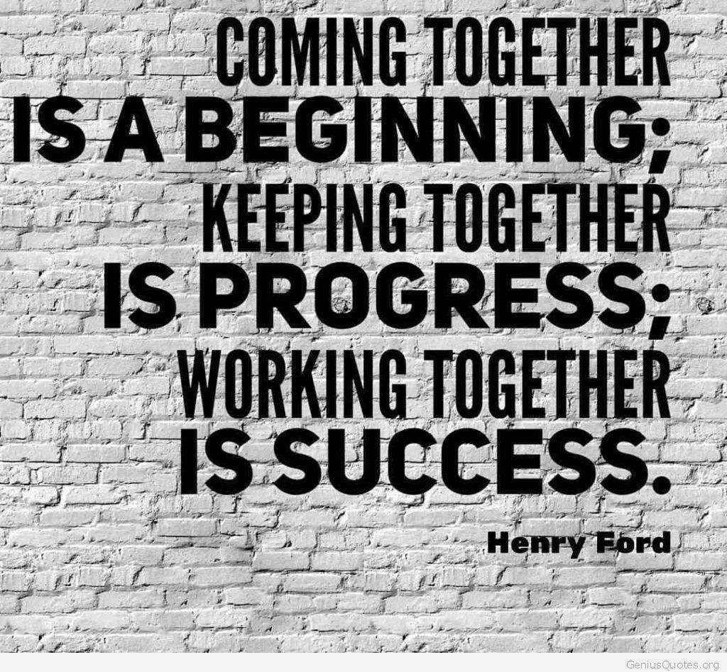 Working Together Is Success 1024x947
