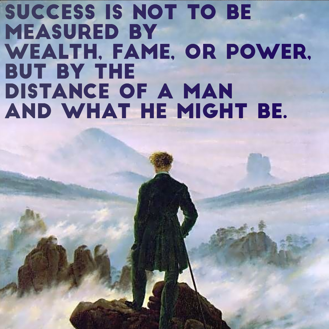 Success Not Measured Wealth Life Daily Quotes Sayings Pictures