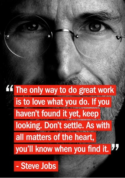 Love What You Do Graduation Quotes