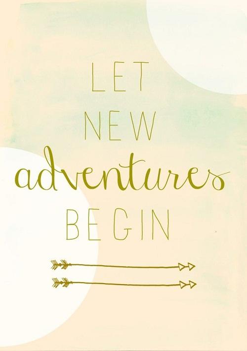 New Adventures Begin Graduation Quotes