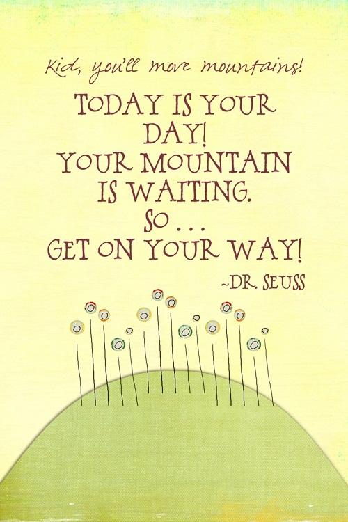 Waiting Mountain Graduation Quotes