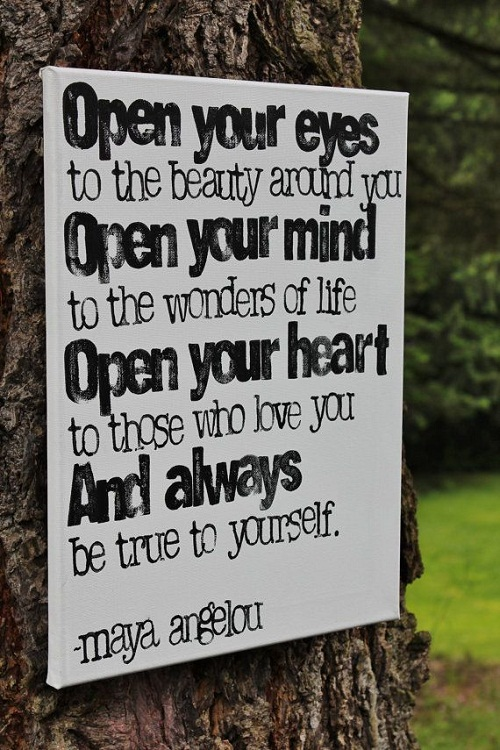 Open your Eyes Graduation Quotes