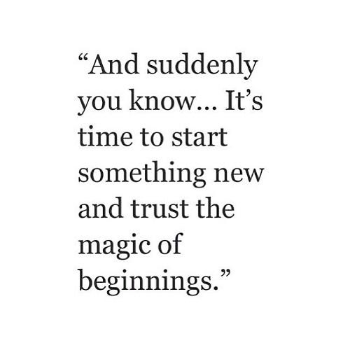 Start Something New Graduation Quotes