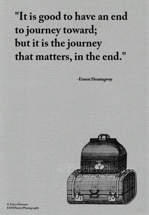 Journey that Matters Graduation Quotes