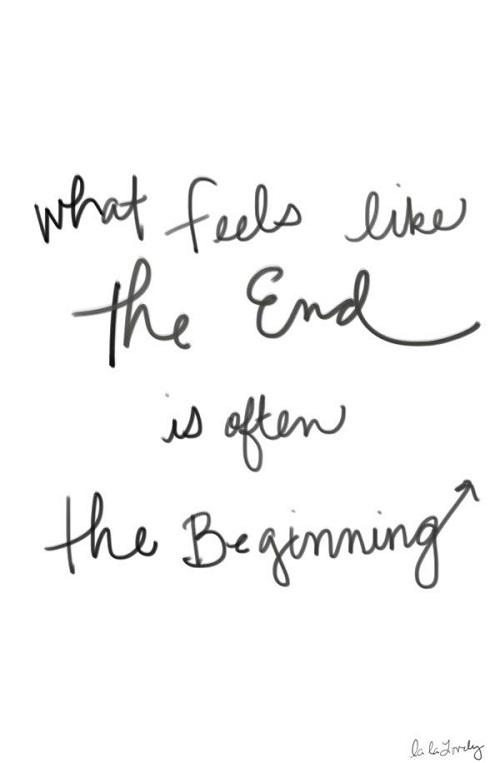 End Beginning Graduation Quotes