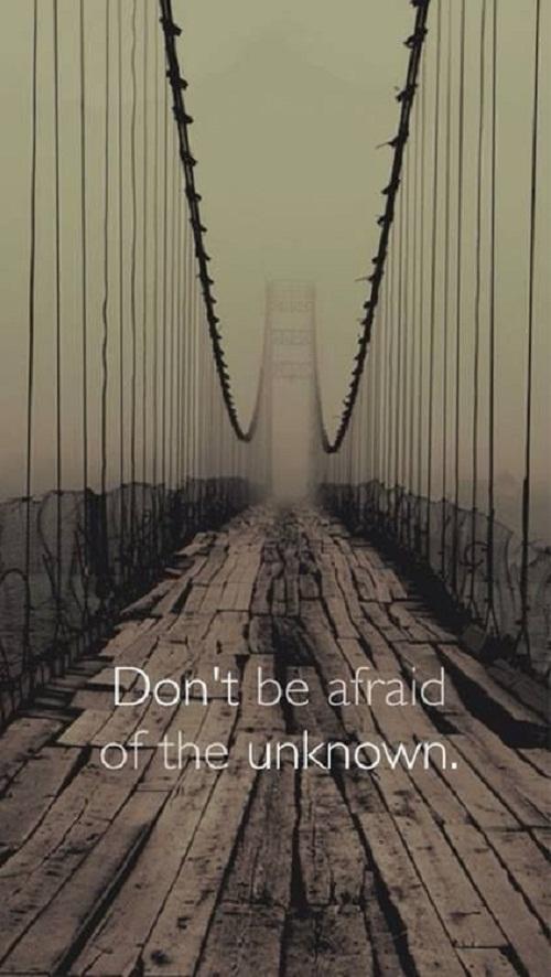 Don't be Afraid Graduation Quotes
