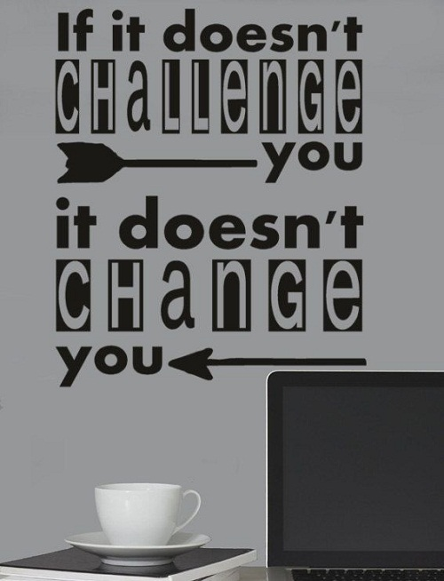 Challenge Change Graduation Quotes