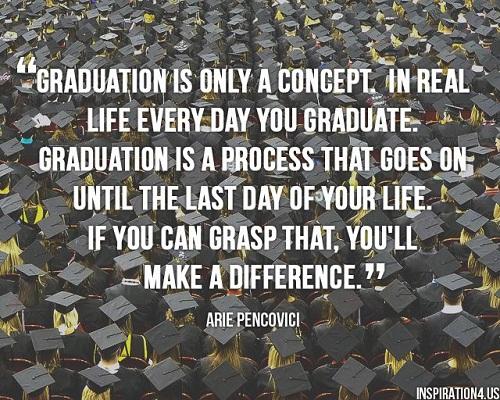 graduation is only a Concept Graduation Quotes