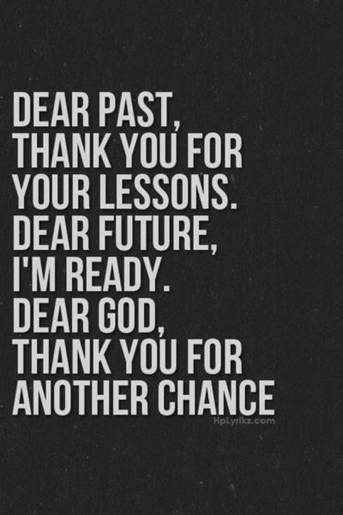 Dear Past and Future Graduation Quotes