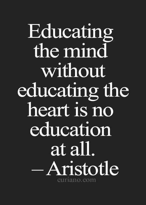 Aristotle Education Graduation Quotes