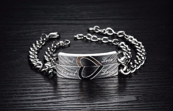 'Real Love' Couple Chain Bracelet