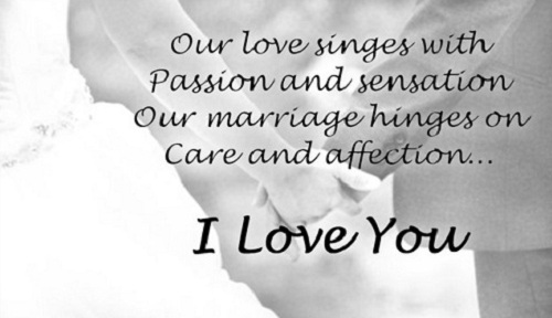 Passion Love Quotes for Husband