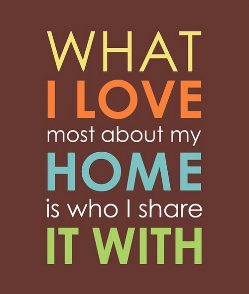 Home Love Quotes for Husband