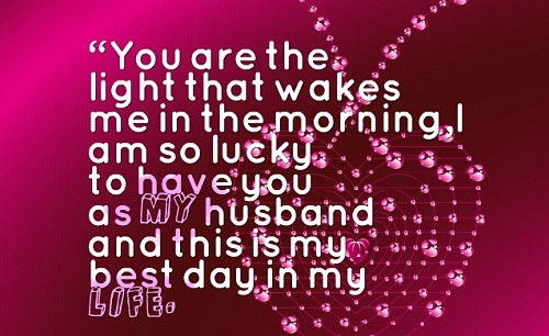 Best Day Love Quotes for Husband