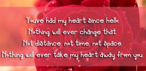 You've Had my Heart Love Quotes for Her