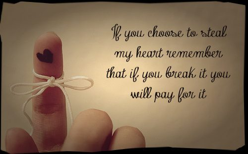 Steal My Heart Love Quotes for Her