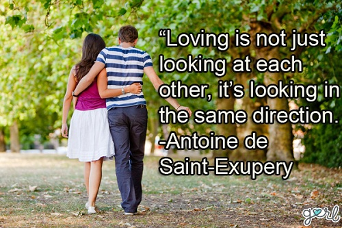 Same Direction Love Quotes for Her
