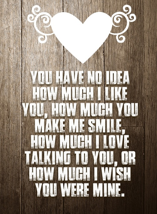Make me Smile Love Quotes for Her