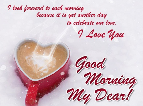 Look Forward to Each Morning Love Quotes for Her