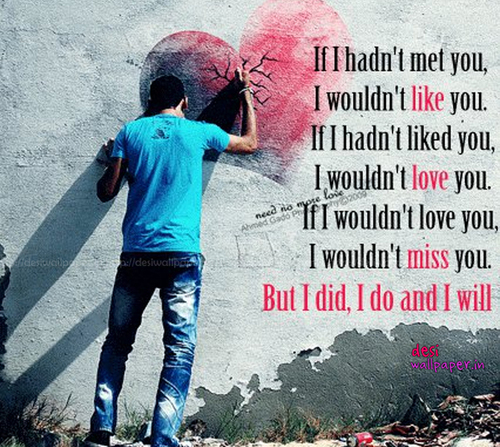 I Miss and Love You Love Quotes for Her