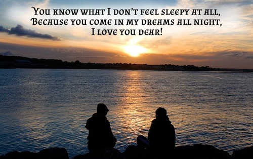 Dream All Night Love Quotes for Her