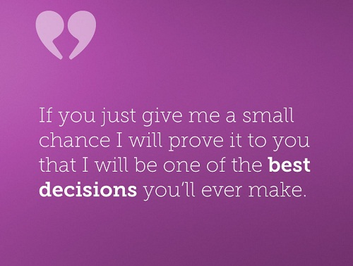 Best Decisions Love Quotes for Her