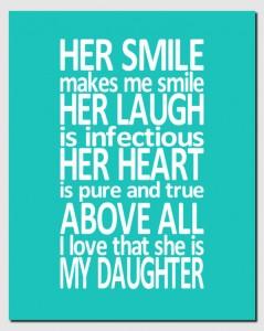 Her smile makes me smile
