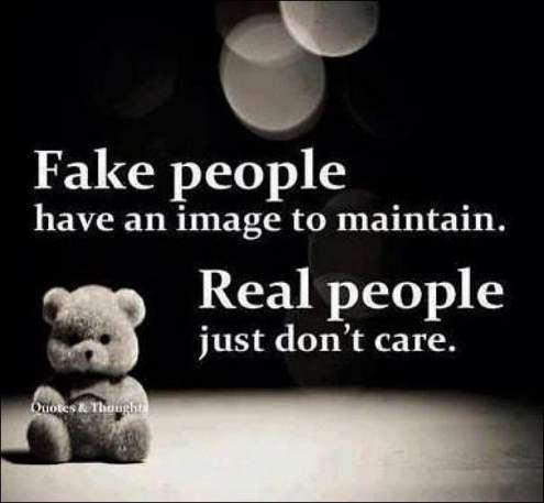difference between fake and real friends quotes and sayings